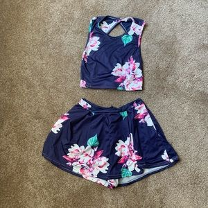 Cute summer two-piece set
